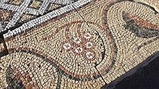 Напольная мозаика с узором винограда - Херсонес храм VI век н.э.