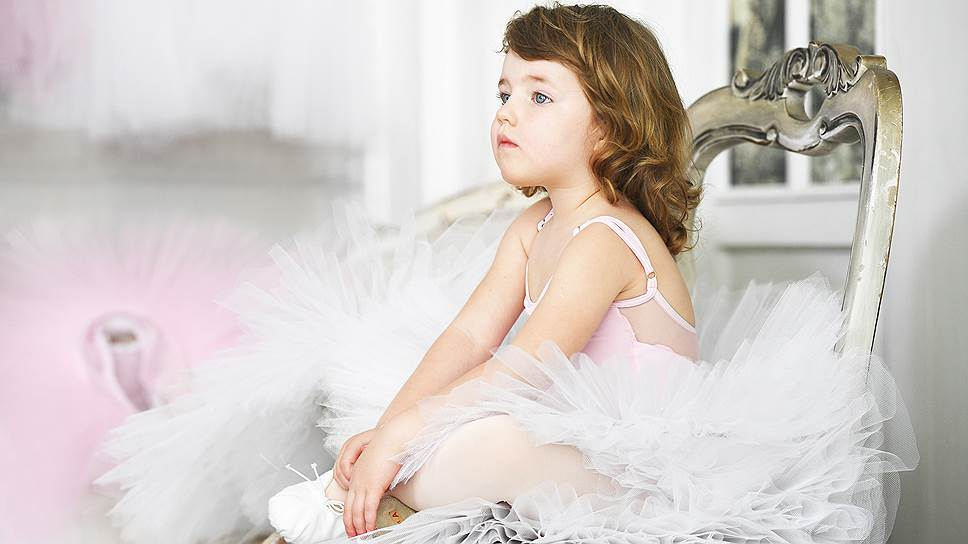 Ученица Центральной балетной школы «pre-Академия»