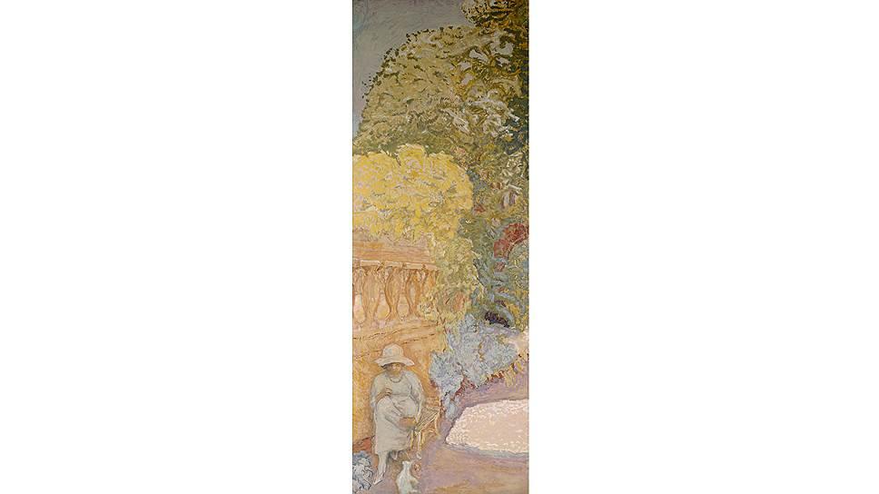 Часть триптиха «У Средиземноморья», Пьер Боннар, 1911