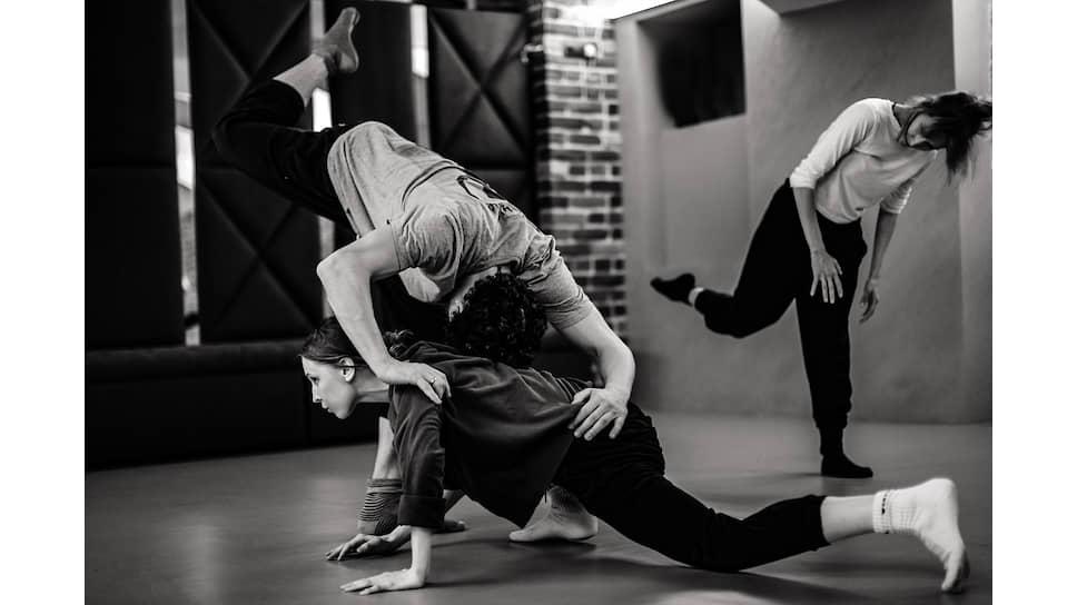 Репетиция балетного спектакля «1234». Творческое объединение M.A.D. Company