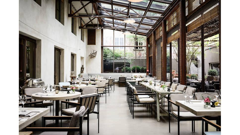 Ресторан Garden в отеле Bayerischer Hof