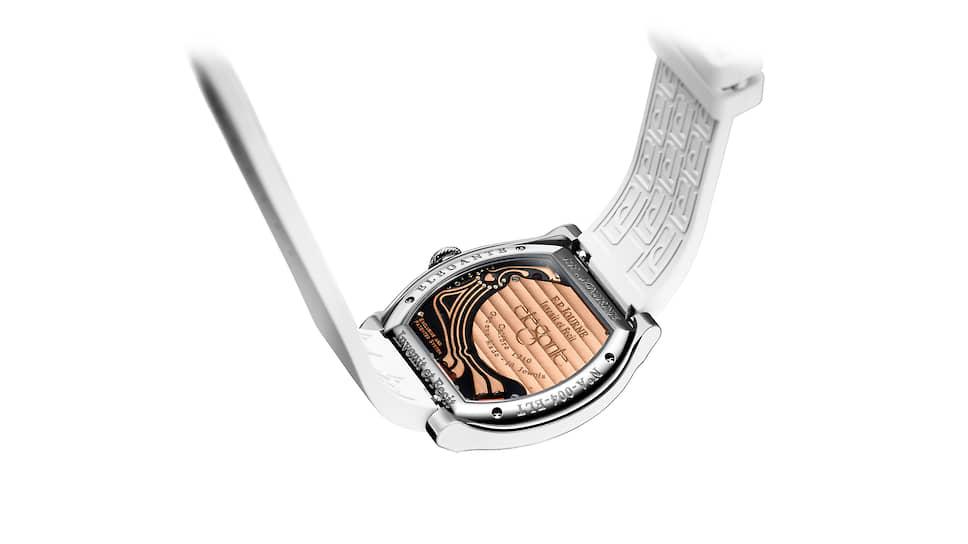Обратная сторона часов Elegante, 40 мм, титан, электромеханический калибр
