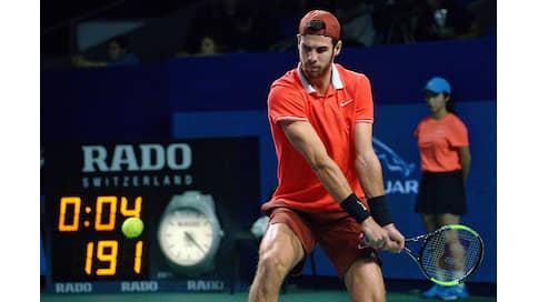 Выход на корт  / Как Rado играет в теннис