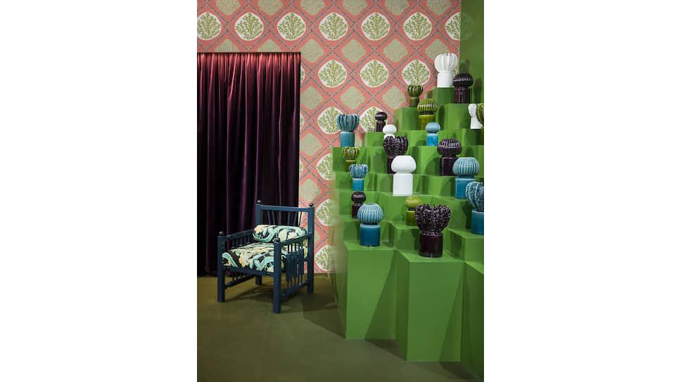 Экспозиция на Maison & Objet 2019, предметы мебели и аксессуары из коллекции дизайнера