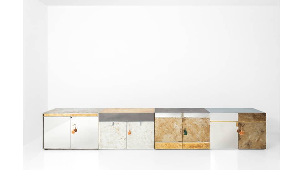 Тумбы Cabinet 085, 086, 087, 088 по дизайну Dimore Studio