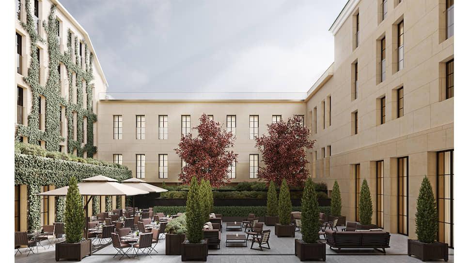 Проект отеля  Bvlgari Hotels & Residences на Большой Никитской