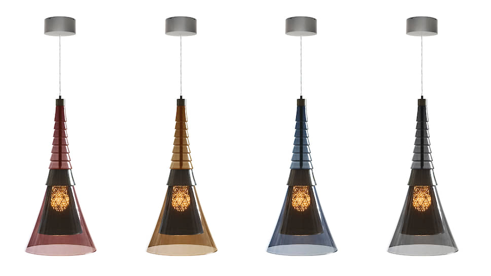 Светильники Icosaedro компании Promemoria