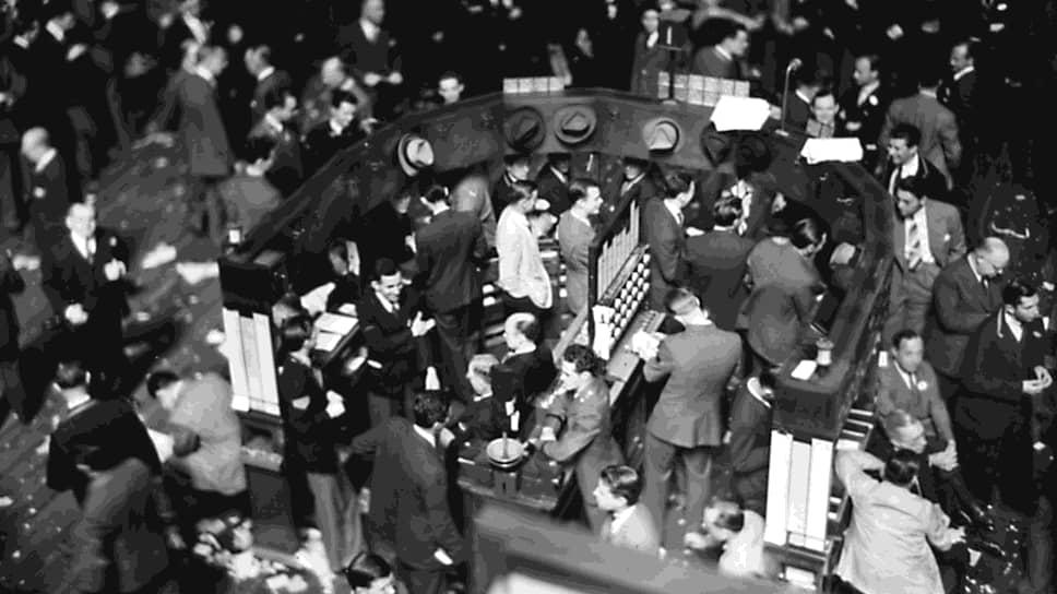 С середины 1920-х годов до осени 1929 года фондовый рынок США был во власти «быков», фондовый индекс Доу-Джонса постоянно рос