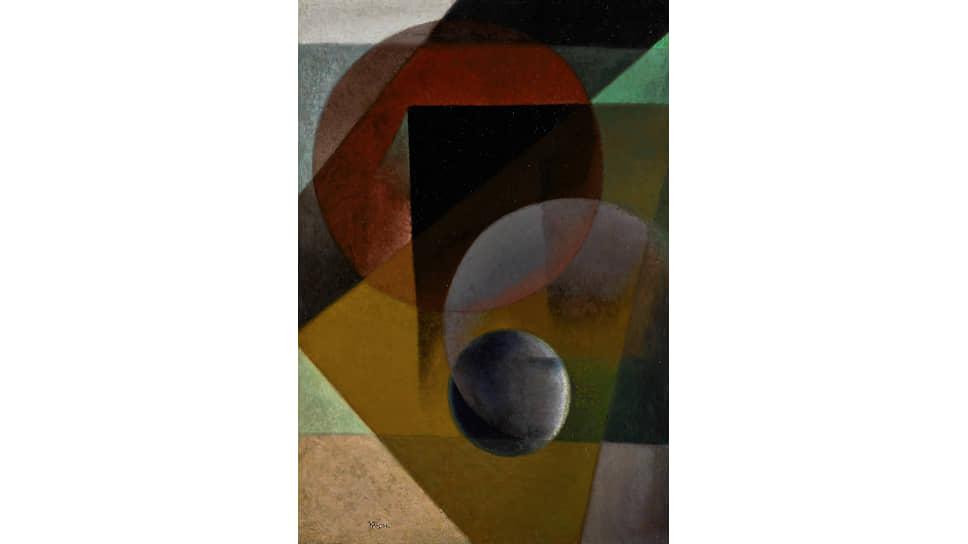 Иван Клюн, «Сферический супрематизм», 1923-1925 годы
