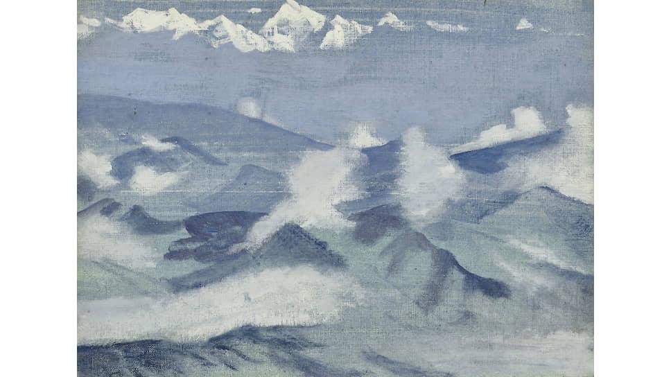 Николай Рерих, «Канченджунга», 1924 год