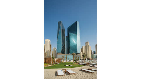 Взгляд из окна  / Rixos Premium Dubai