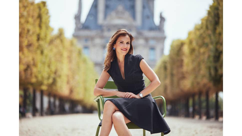 Президент Clarins Fragrance Group и Mugler Fashion Сандрин Гролье