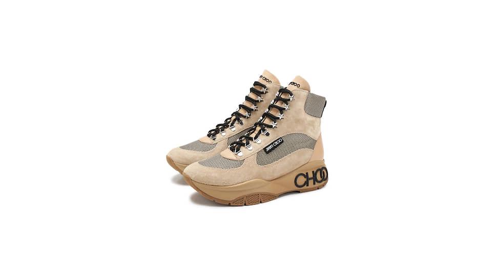 Замшевые кроссовки Jimmy Choo, ЦУМ