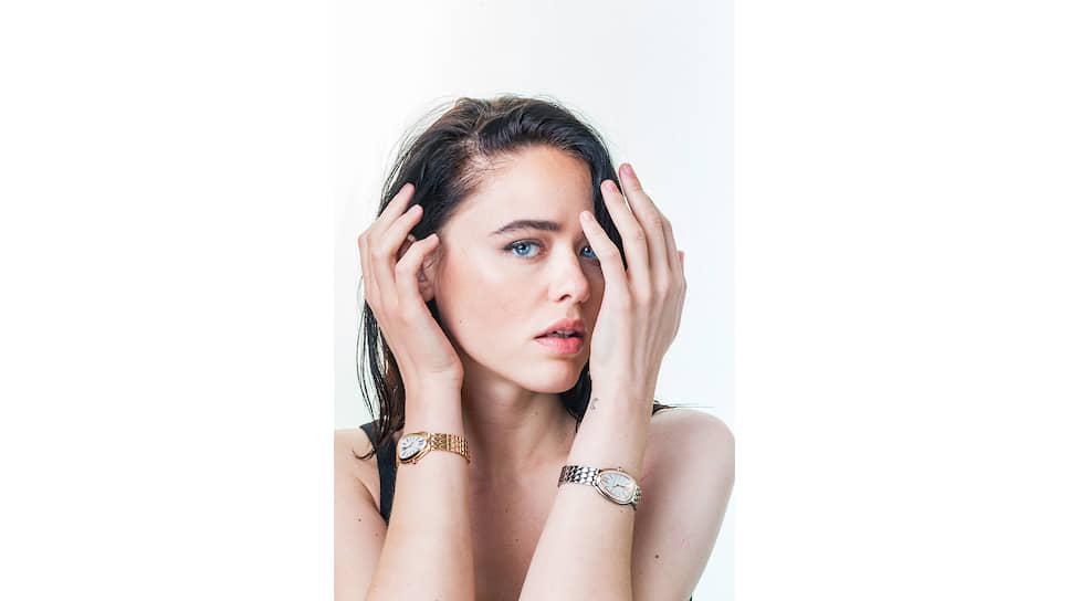 Кристина Базан в рекламной кампании Bvlgari