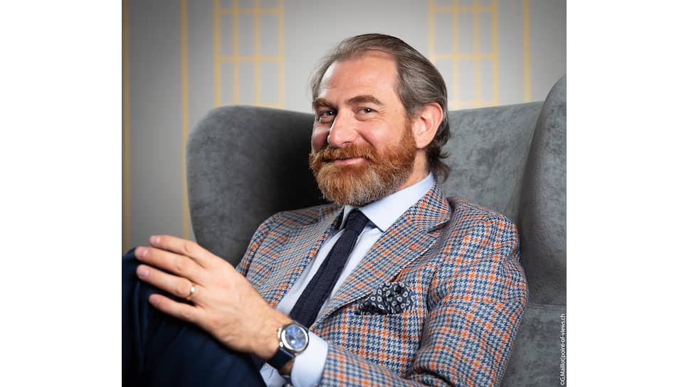 Дизайнер и креативный директор часового направления Bvlgari Фабрицио Буонамасса