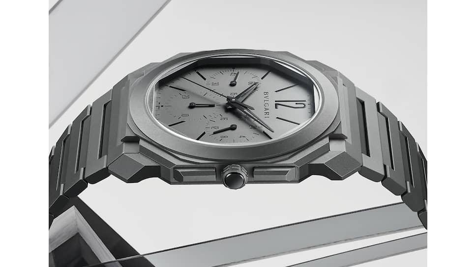 Bvlgari Octo Finissimo Chronograph GMT Automatic, премированный на женевском Гран-при, в титане и на эскизах Фабрицио Буонамассы