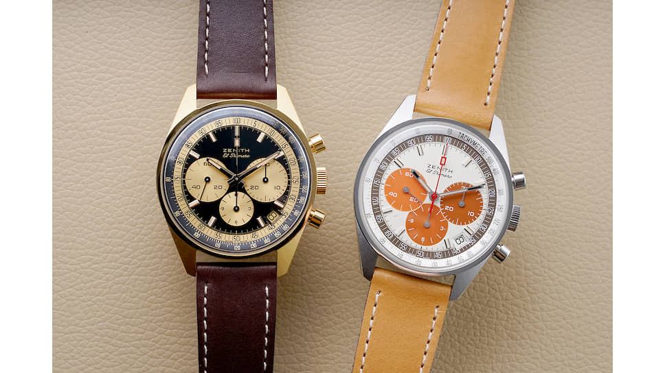 Phillips и Zenith создали две лимитированные серии El Primero: 20 экземпляров в золотом корпусе и 49 экземпляров в стали