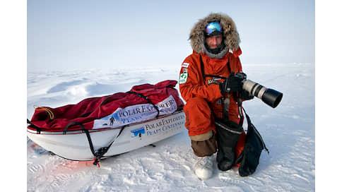Пока лед не растаял  / Себастьян Коупленд о полярной фотографии и о часах Diver X Antarctica