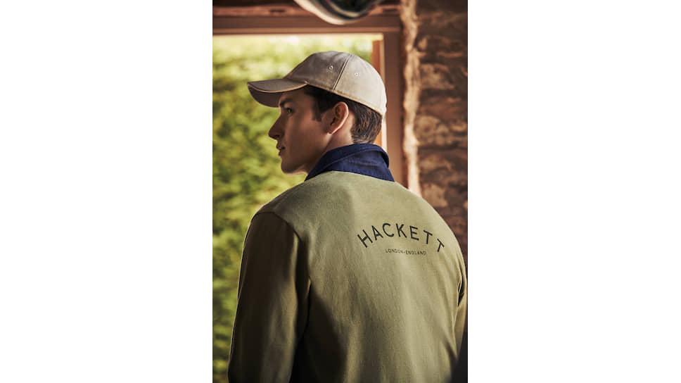 Фото из рекламной кампании Hackett London
