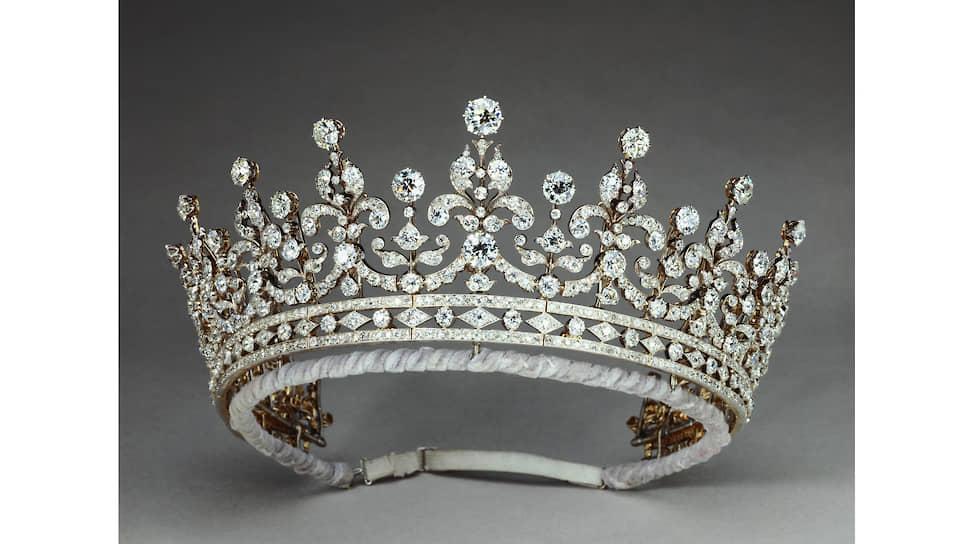 Тиара The Girls of Great Britain and Ireland, серебро, золото, бриллианты, 1893 год
