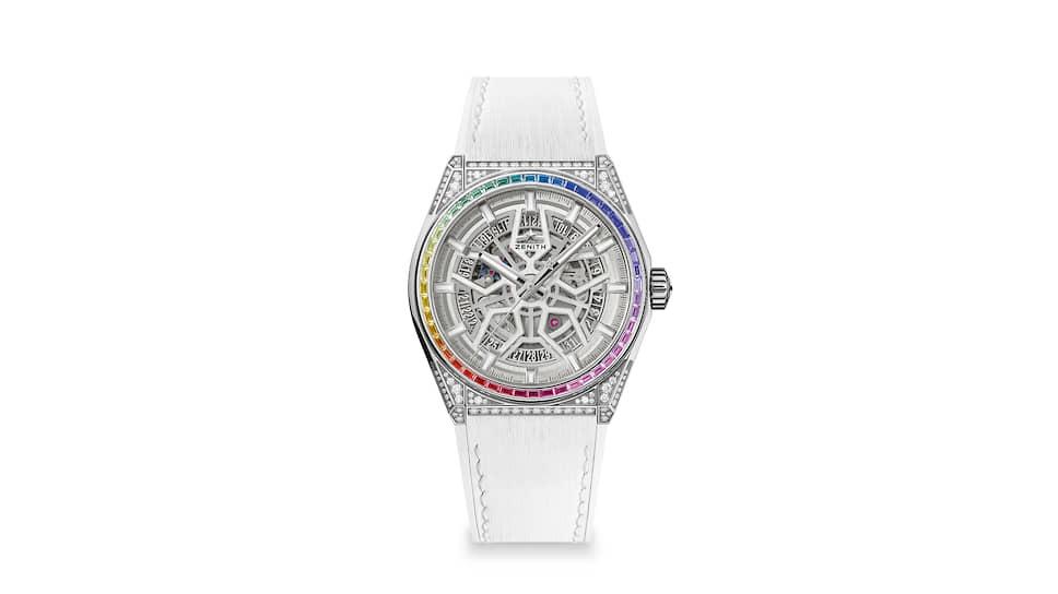 Часы Zenith Defy Classic Jewelry Rainbow