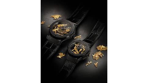 Золотые ветви  / Натела Поцхверия о Hublot Classic Fusion Gold Crystal