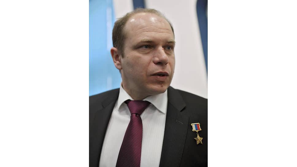 Герой России, сотый российский летчик-космонавт, участник трех космических полетов на МКС Олег Котов
