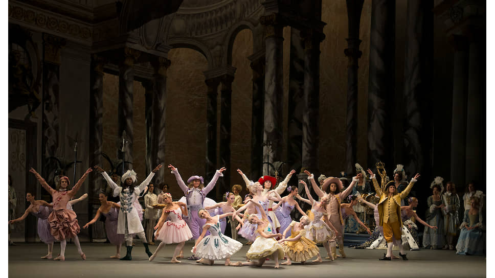 Сцена из балета «Спящая красавица» Алексея Ратманского