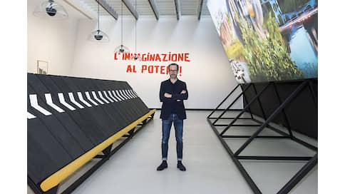 На большом экране  / Alcantara в музее MAXXI