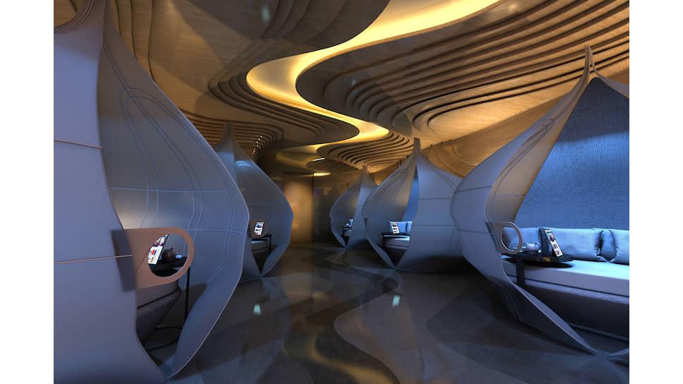 В spa-центре отеля Mandarin Oriental Jumeira