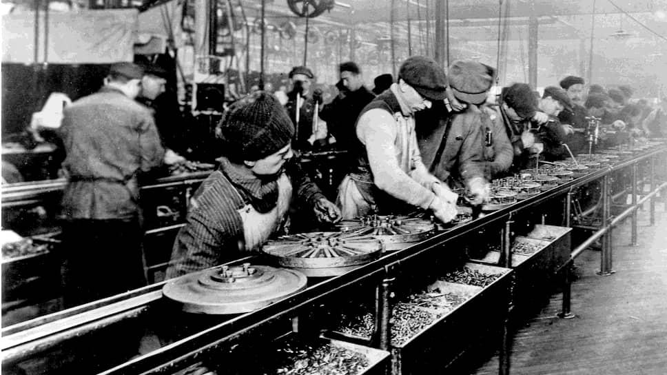 Изобрел конвейер 1913 рольганг труб