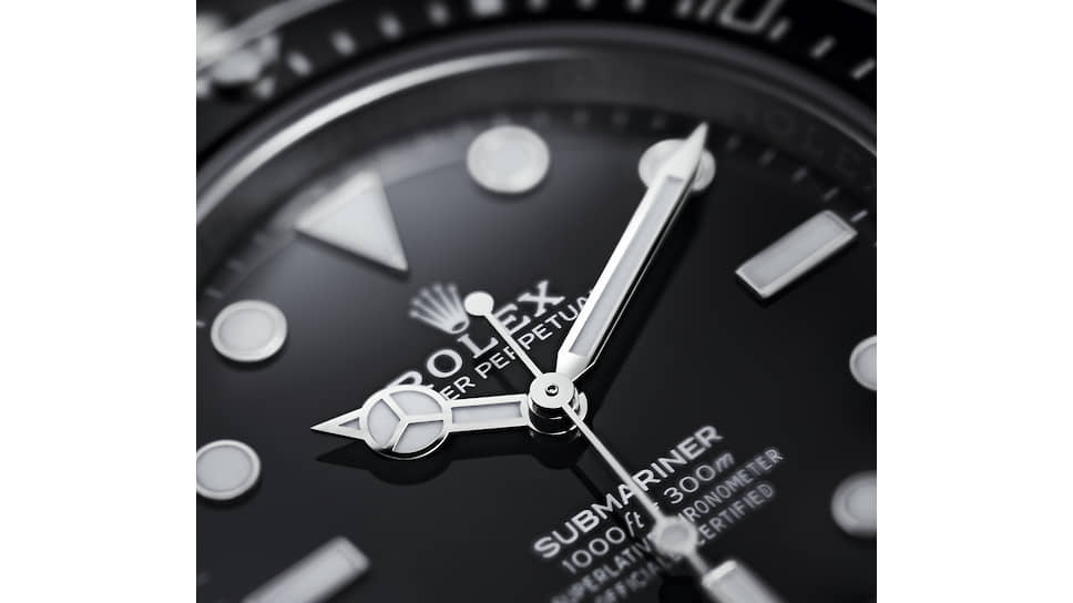 Часы Rolex Oyster Perpetual Submariner с тремя стрелками