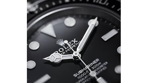 Коронные презентации  / Rolex не подводит часы