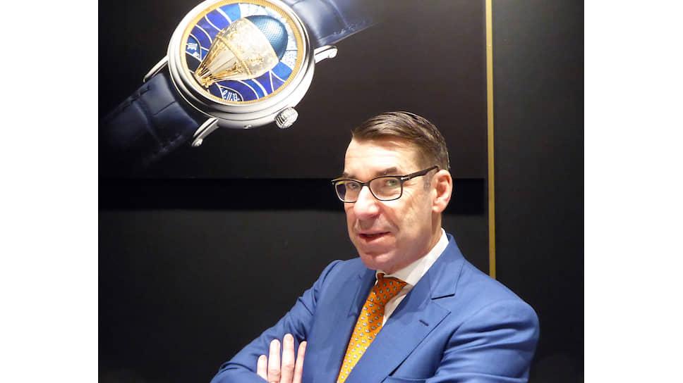 Директор по стилю и наследию компании Vacheron Constantin Кристиан Селмони