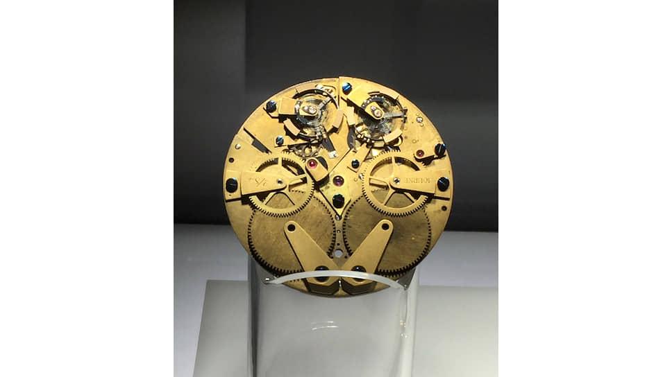 Первый прототип механизма с резонансом, который Франсуа-Поль Журн построил в 1983 году, чтобы изучить возможность создания «двойного» хронометра
