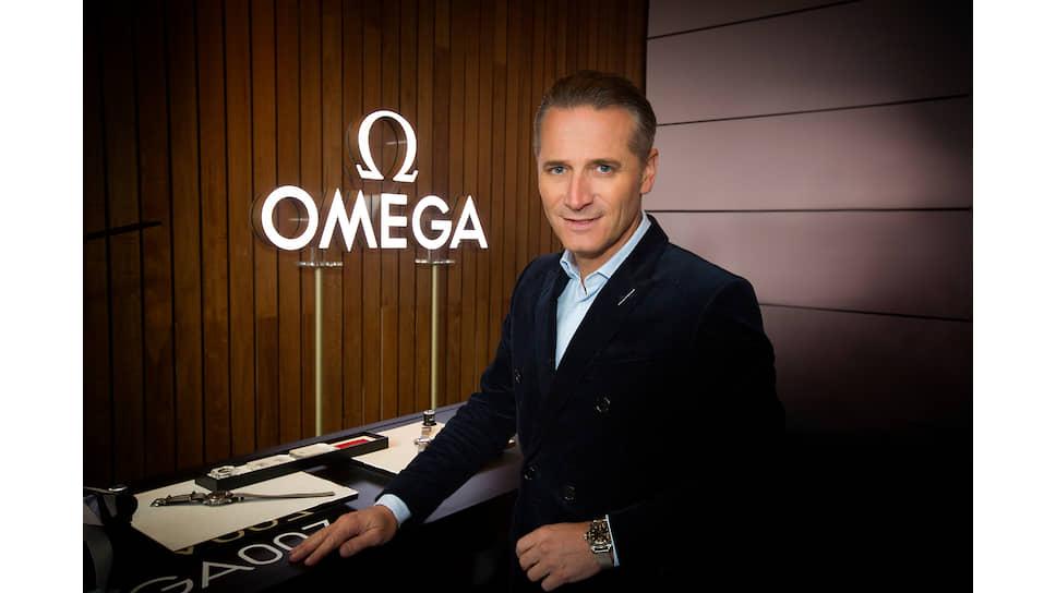CEO Omega Рейнальд Эшлиманн