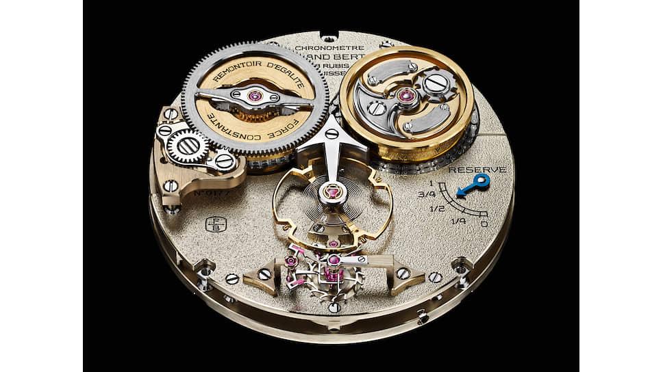 Chronometrie Ferdinand Berthoud Chronometre FB 2RE.1