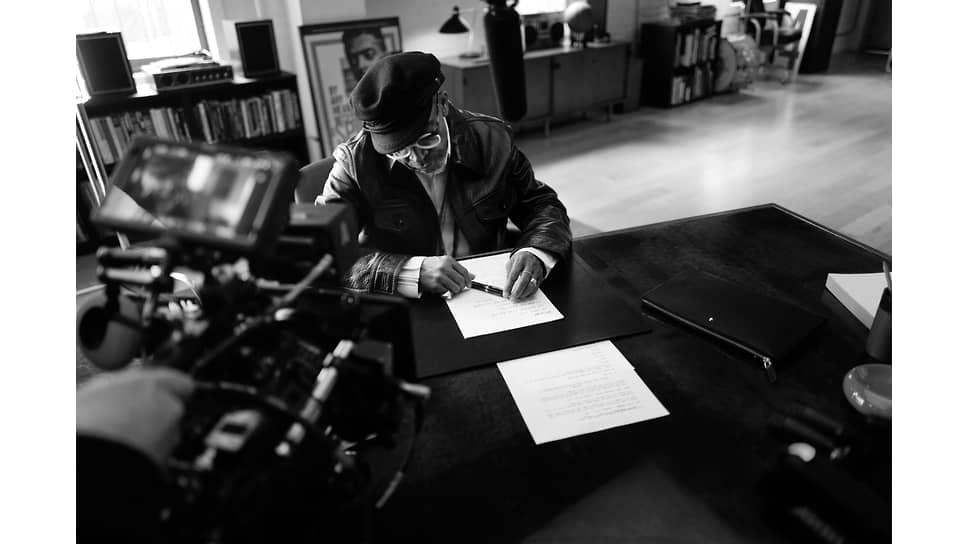 Сценарист и режиссер Спайк Ли в рекламной кампании Montblanc