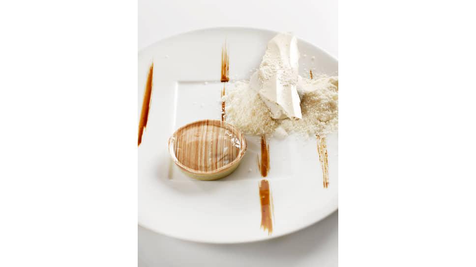 Блюдо в ресторане Flocons dе Sel