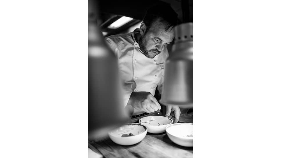 Шеф-повар ресторана Flocons dе Sel Эммануэль Рено