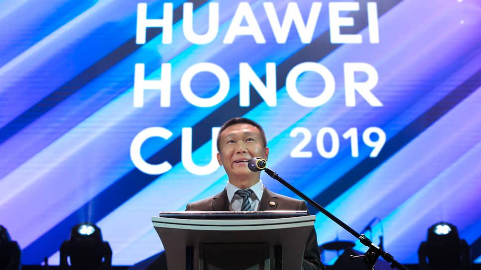 У Сай, вице-президент Huawei в регионе Евразия