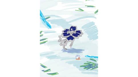 Иней моды  / Van Cleef & Arpels Winter Flowers