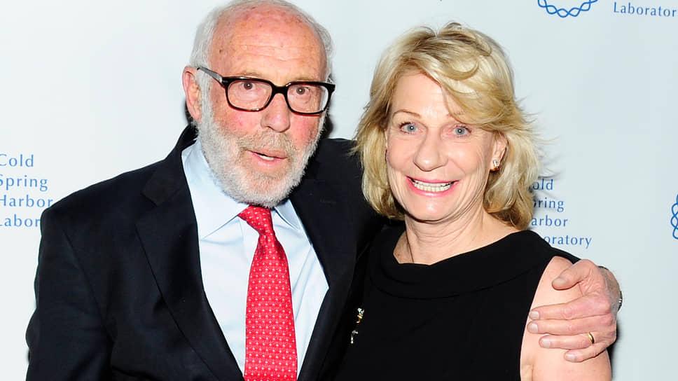 Джим Саймонс с супругой Мэрилин. Первый раз Джим сыграл на бирже на деньги, полученные от ее родителей в качестве свадебного подарка