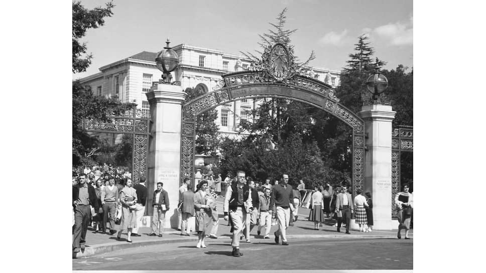 Калифорнийский университет в Беркли, в котором Саймонс получил степень доктора математики