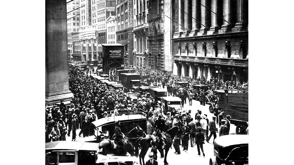 В 1929 году биржевые операции принесли Бернарду Баруху прибыль, чего нельзя было сказать о миллионах американцев