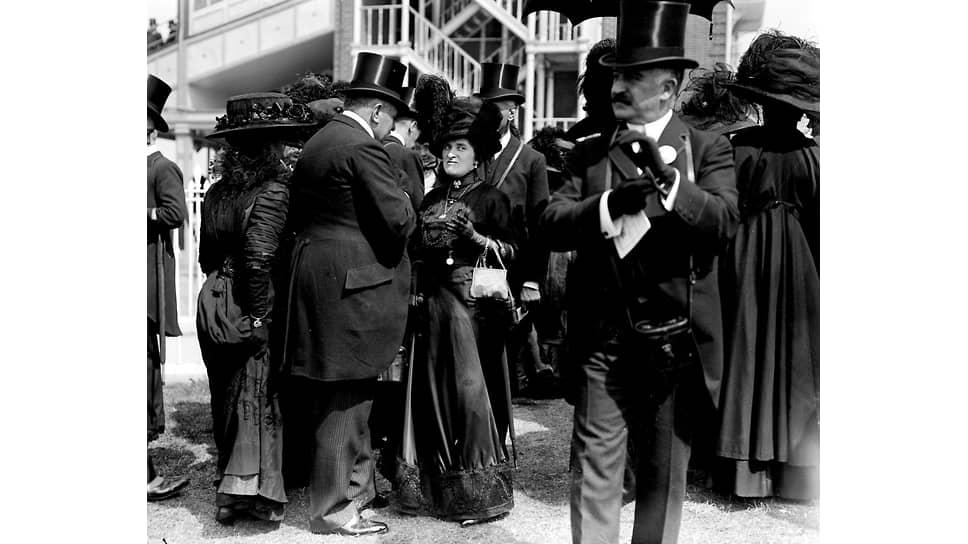 Леди Карнарвон в Аскоте, 1910 год