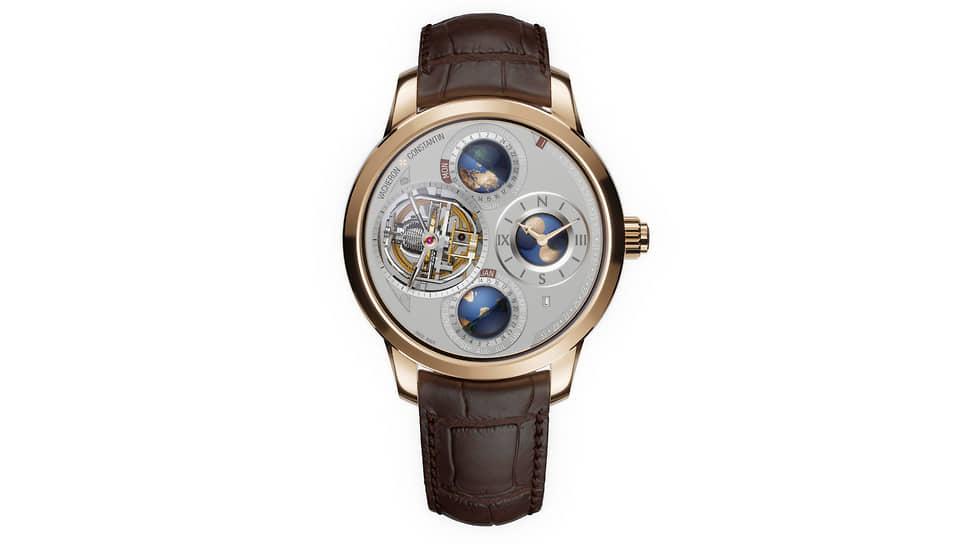 Vacheron Constantin Les Cabinotiers Armillary Tourbillon Perpetual Calendar Planetaria. Часы с двухосным армиллярным турбийоном и вечным календарем в корпусе 46 мм из розового золота