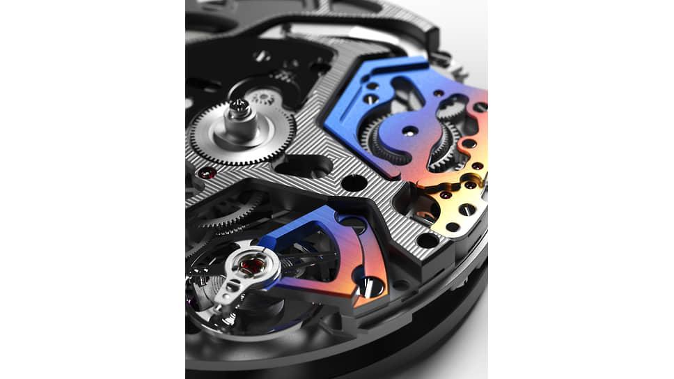 Механизм часов Zenith Defy 21 Felipe Pantone