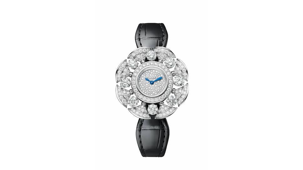 Bvlgari Divas' Dream Divissima Diamonds. Корпус из белого золота с бриллиантами