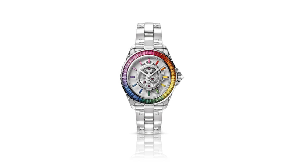 Chanel J12 X-Ray Electro Rainbow